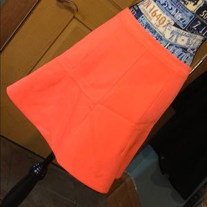 Cute orange skirt